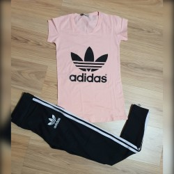 Compleu Adidas Stripes